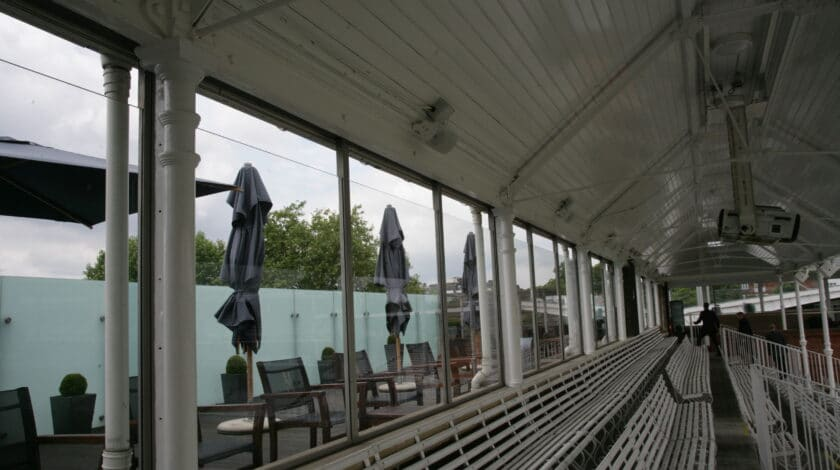 Lords cricket ground seating area